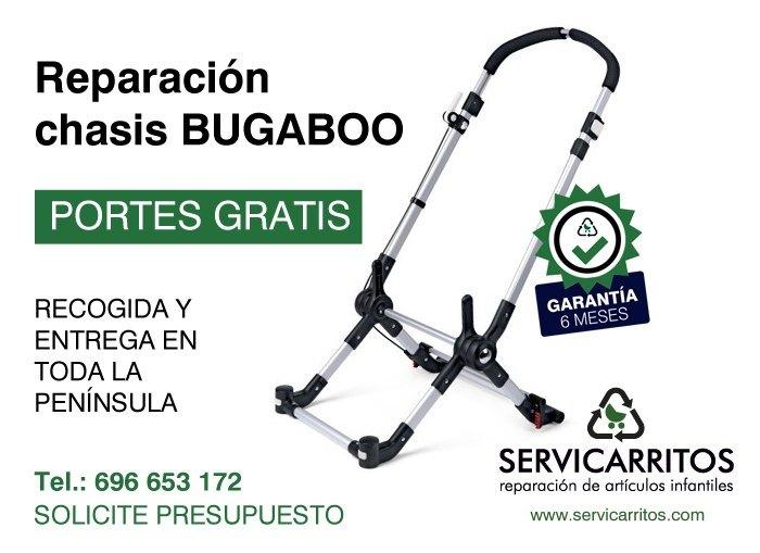 Reparación chasis Bugaboog