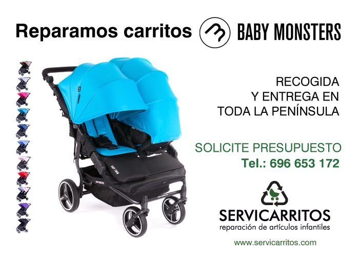 reparacion baby monsters