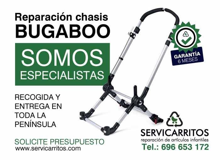 Reparacion chasis Bugaboo Servicarritos